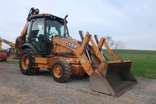 CASE 580SN Backhoe Loader, 95 hp, 7814 kg