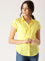 YELLOW DESIGN SHIRT
