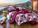 Triangle Print Bed Sheet