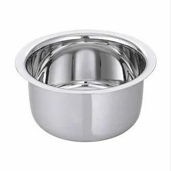 Chrome Coated Silver Stainless Steel Patila