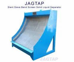 Slant Sieve Bend Screen Solid Liquid Separator