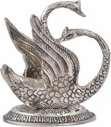 Silver Plated Swan Napkin Holder