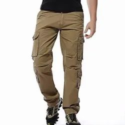 30-34 Brown Mens Cargo Pants