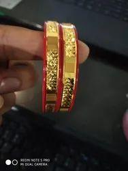 Brass pola bangle