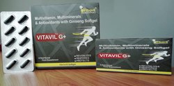 Multivitamins Multiminerals Antioxidants Ginseng Capsules