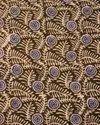 "44-45"" Multicolor Silk Block Print Fabric, For Garments, Gsm: 50-100"