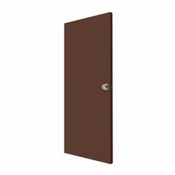 PVC Flush Brown Door