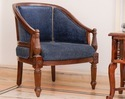 Antique Wooden Sofa Chair, Size: 24 X 26 Inch