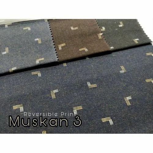 Printed Cotton Shirting Fabric