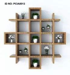 PCI 18mm Engineered Wood WALL DESIGNER UNIT, For Home