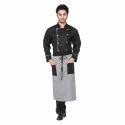 Cotton Assistant Chef Uniforms, Size: S & L