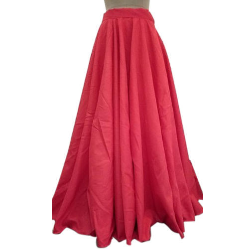 467c4acd5 Pink Floor Length Flared Skirt, Rs 1300 /piece, Whats In Fashion ...