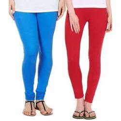 Zadmus Red Ladies Colored Leggings