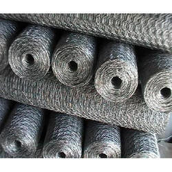 Hexagonal Chicken Wire Mesh, For Industrial, Material Grade: Gi & Stainless Steel