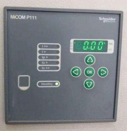 micom p111 numeric relay model e over current earth fault rh indiamart com micom p111 relay manual pdf Protective Relay Test Leads