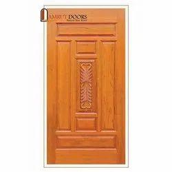 Amrut Door Exterior Teak Wood Doors, For Home, Hotel and Office