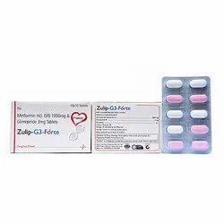 Metformin HCl Glimepiride Tablets