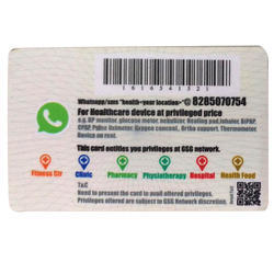 PVC Barcode Card
