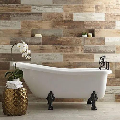 Bathroom Ceramic Wall Tile, Packaging Type: Box, Rs 40