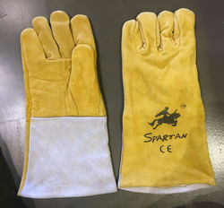 Spartan Leather Hand Gloves