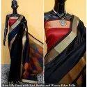 5.5 Meter Raw Silk Saree