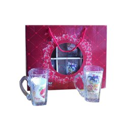 Transparent Juice Glass Set for Home
