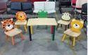 Kids School Wooden Beer Chair Kindergarten Furniture