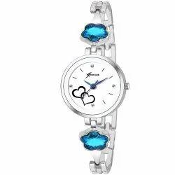 Round Analog Ladies Rich Club Blue Precious Watch