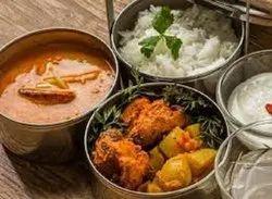 Basic Indian Hostel food Service