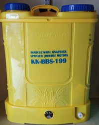 Kisankraft Double Motor Battery Sprayer