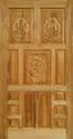 Polished Brown Decorative Doors, Thickness: 30 Mm