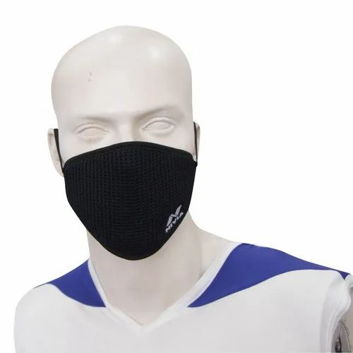 Nivia Oxymask -1 ( Dotted Micro-Polyester Fabric With Meltblown Layer)