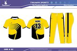 Cricket League Uniforms