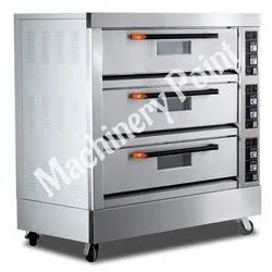 3 Deck 9 Tray Electric Deck Oven