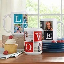 Muggd Personalized Photo Coffee Mug, Packaging Type: Box