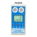 Portable Dual Gas Detector PG-200-D