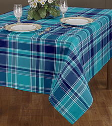 Yarn Dyed Check Table Cloths