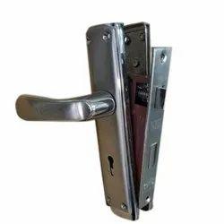 Stainless Steel SS Door Lock, Chrome