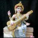 God Marble Saraswati Maa Statue
