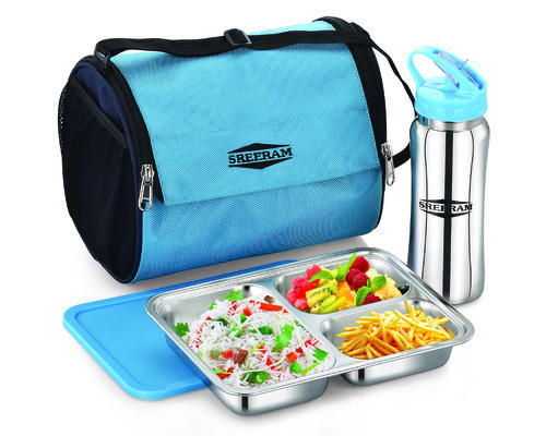 Stainless Steel Bento Lunch Box With Water Bottle And Bag Yummy Box
