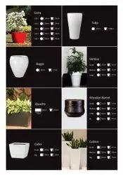 Wooden Barrel Planters Pot