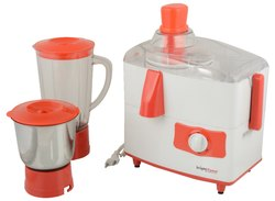 Brightflame Juicer Mixer Grinder With 2 Jars-Cherry