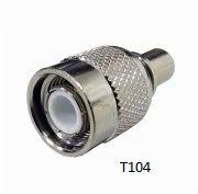 TNC  Crimp Type T104 Connectors