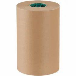 Brown Wood Pulp Packaging Kraft Paper Roll