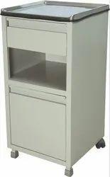 Sliver & White ASCO Lockers - Bed Side