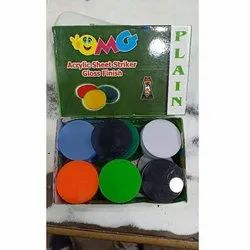 Gloss Finish Acrylic Carrom Striker