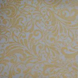 P105 Non Woven Metallic Printed Fabric
