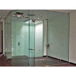 Tempered Glass Door
