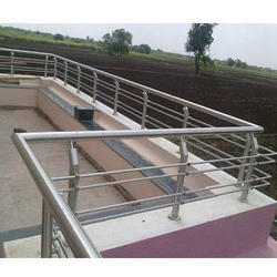 Balcony Stainless Steel Railings For Home Mounting Type Wall Rs 7000 Meter Id 3967915188