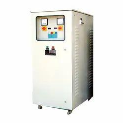 Single, Three Air Cooled Voltage Stabilizer, Capacity: 10-150 Kva